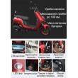 Универсален електрически скутер с мощност 1200W в различни цветове - MOTOR11 10