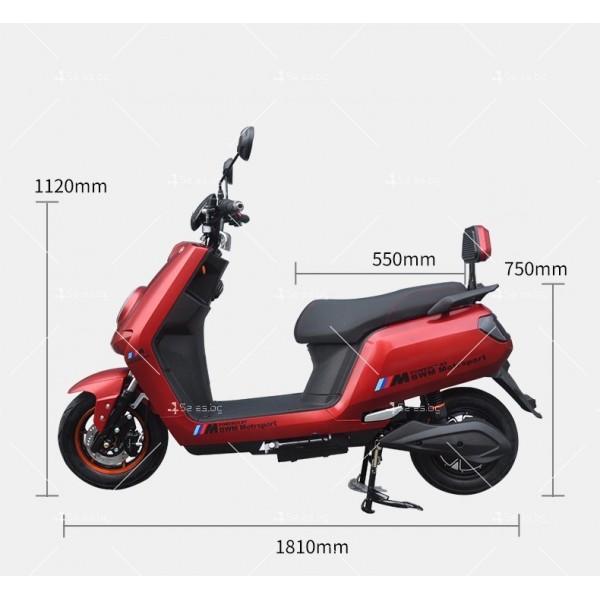 Универсален електрически скутер с мощност 1200W в различни цветове - MOTOR11 15