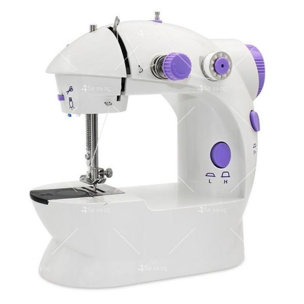 Многофункционална шевна машина с 5 вградени програми за работа - TV844