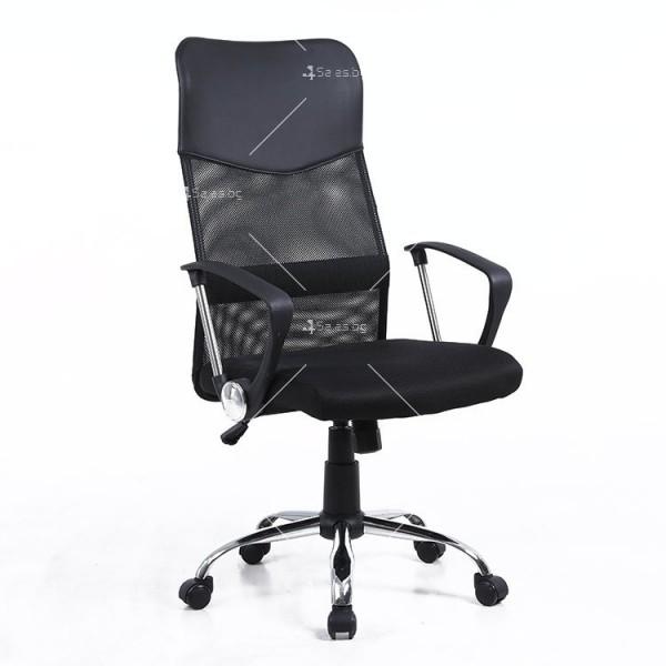 Модерен офис стол за бюро с разглабящи се елементи - CHAIR2 4