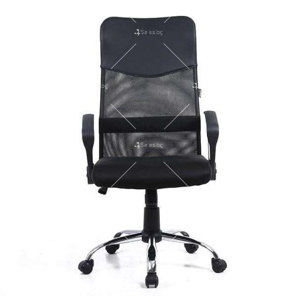 Модерен офис стол за бюро с разглабящи се елементи - CHAIR2 5