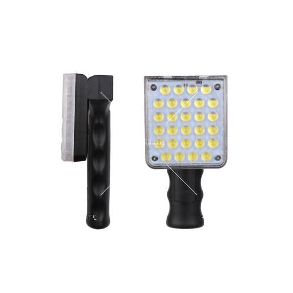 LED Преносим фенер - работна лампа с вградена батерия, магнит и кука FL79 3