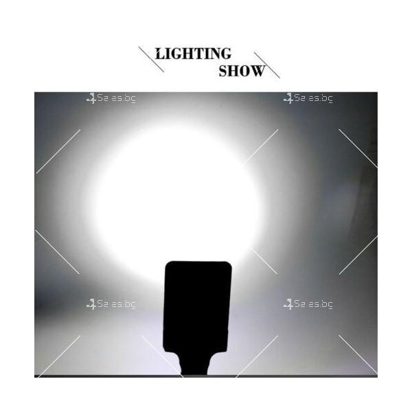 LED Преносим фенер - работна лампа с вградена батерия, магнит и кука FL79 6