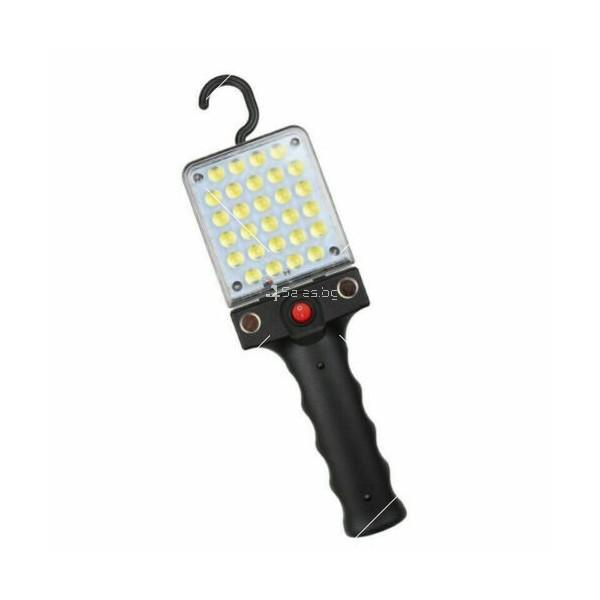 LED Преносим фенер - работна лампа с вградена батерия, магнит и кука FL79 7