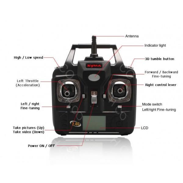 Дрон Syma X5SW Explorers с 2mpx HD камера, 2.4 Ghz обхват до 200 метра 34