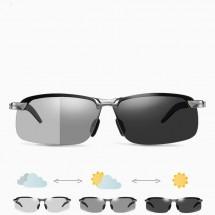 Поляризирани спортно – елегантни слънчеви очила за дневно и нощно шофиране YJ40