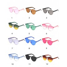 """Водоустойчиви дамски очила подходящи за плаж във формата на """"котешко око"""" YJ49"""