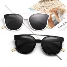 Класически унисекс слънчеви очила с двойна рамка YJ51