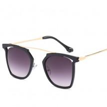 Модни, масивни слънчеви дамски очила със стъкла с многоъгълен дизайн YJ52