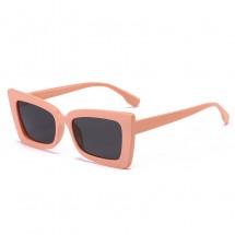Елегантни, дамски слънчеви очила, с правоъгълна форма и издължени ръбове YJ55