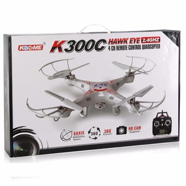 Дрон Komme K300C Howk Eye 0.3Mpx камера и 3D обръщане 8