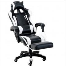 Въртящ се кожен стол за офис и компютърни игри CHAIR1