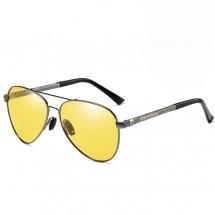 Модерни слънчеви очила за мъже с цветни стъкла и поляризация YJ92