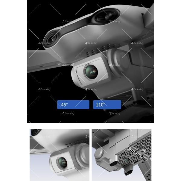 Сгъваем дрон за въздушна фотография DRON E525 3