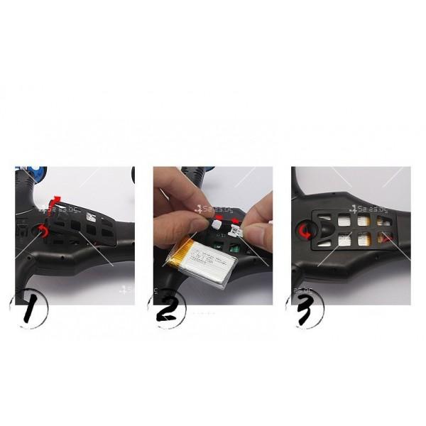 Jjrc дрон- автомобил с летателен режим и дистанционно управление DRON JRC-X123 3