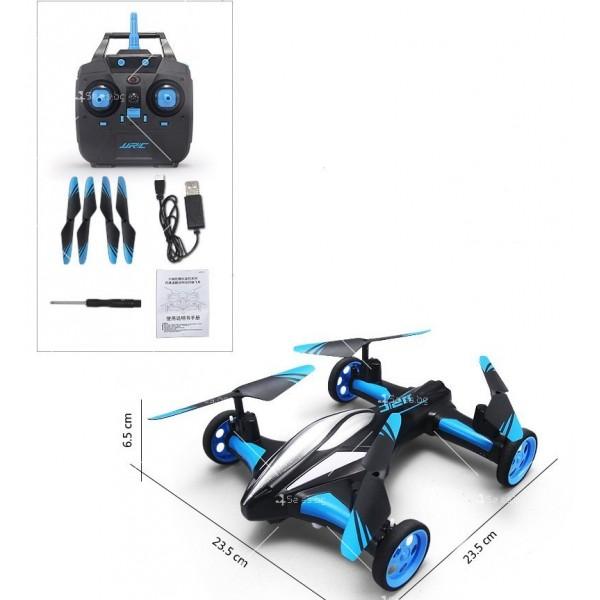 Jjrc дрон- автомобил с летателен режим и дистанционно управление DRON JRC-X123 6