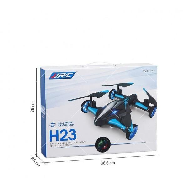 Jjrc дрон- автомобил с летателен режим и дистанционно управление DRON JRC-X123 8