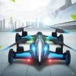Jjrc дрон- автомобил с летателен режим и дистанционно управление DRON JRC-X123 12