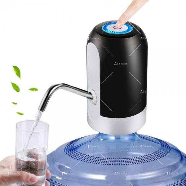 Иновативен смарт безжичен презареждащ се диспенсър за вода, TV294 4