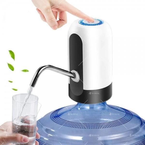Иновативен смарт безжичен презареждащ се диспенсър за вода, TV294