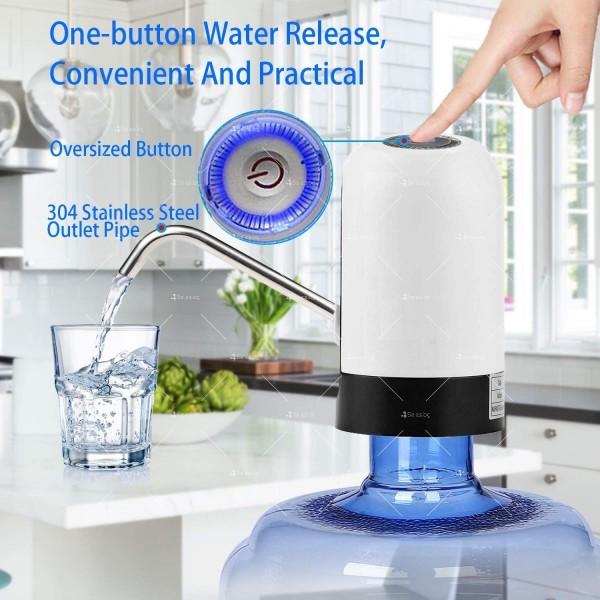 Иновативен смарт безжичен презареждащ се диспенсър за вода, TV294 7