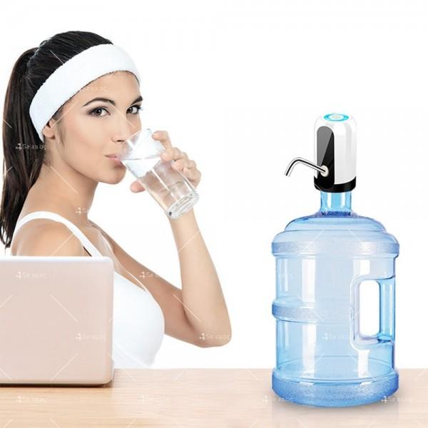 Иновативен смарт безжичен презареждащ се диспенсър за вода, TV294 19