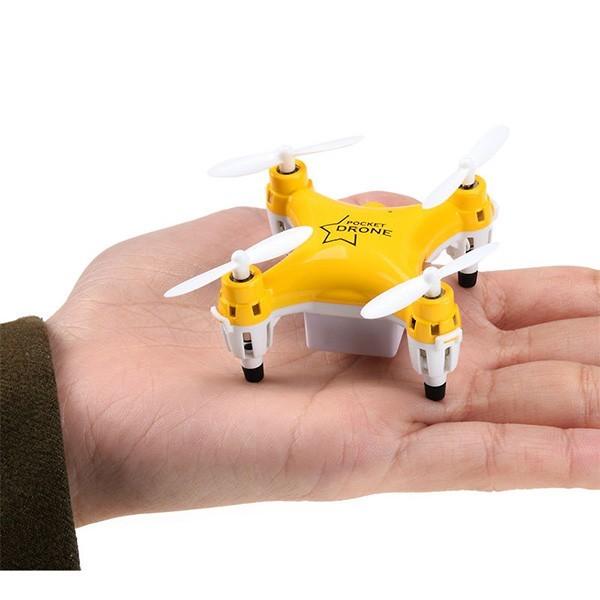 Мини дрон Lishitoys L6058W 0.3mpx камера LED светлини 120mAh - Камера с FPV -HIT 1