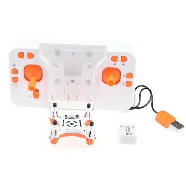 Мини дрон Lishitoys L6058W 0.3mpx камера LED светлини 120mAh - Камера с FPV -HIT 12