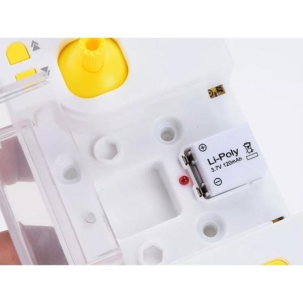 Мини дрон Lishitoys L6058W 0.3mpx камера LED светлини 120mAh - Камера с FPV -HIT 13