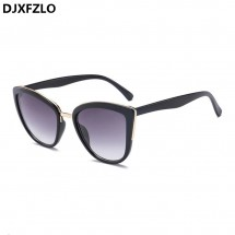 Дамски ретро винтидж стил слънчеви очила тип котешко око
