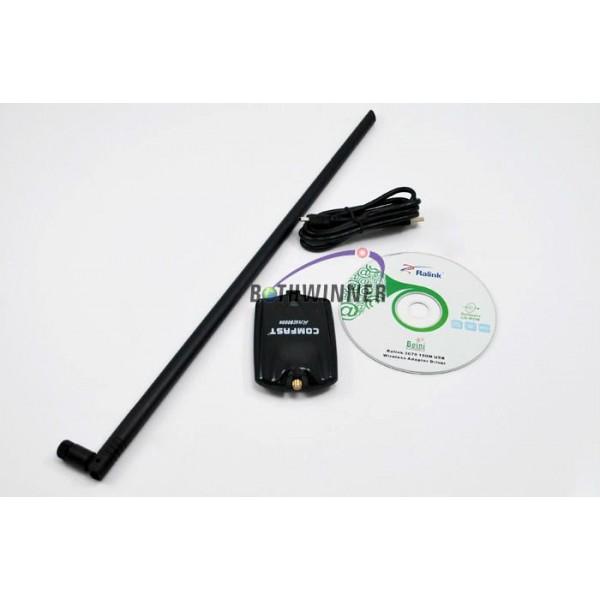 Антена за интернет Comfast 8000N 150mb Стабилна връзка с новия чип Ralink 3070 10
