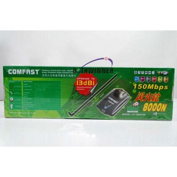 Антена за интернет Comfast 8000N 150mb Стабилна връзка с новия чип Ralink 3070 15