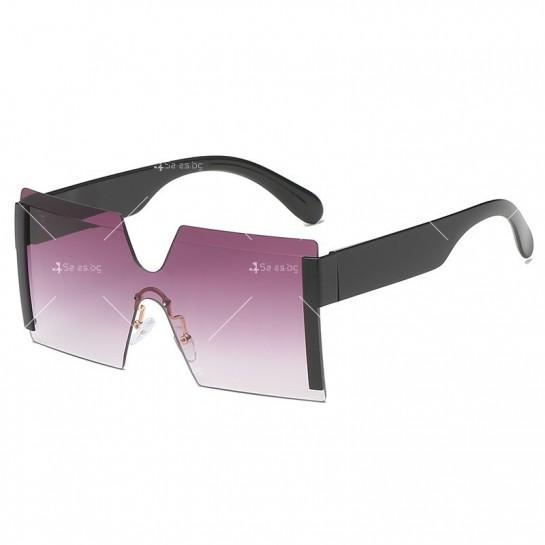 Елегантни дамски слънчеви очила с големи квадратни форми на стъклата YJ76