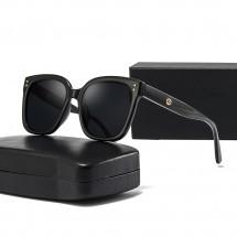 Унисекс поляризирани слънчеви очила с големи стъкла и кутия за съхранение YJ87
