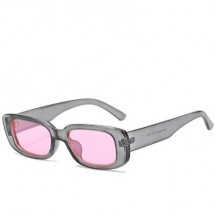 Ретро слънчеви очила с издължена правоъгълна форма