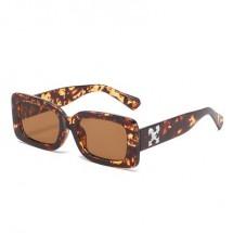 Луксозни дамски ретро слънчеви очила с дебела рамка и правоъгълна форма