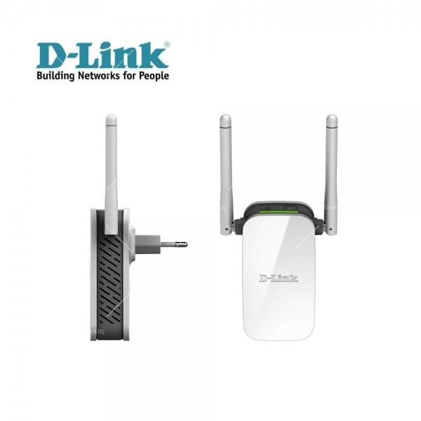 Wifi усилвател за лесно конфигуриране D-Link Wireless Range Extender N3000