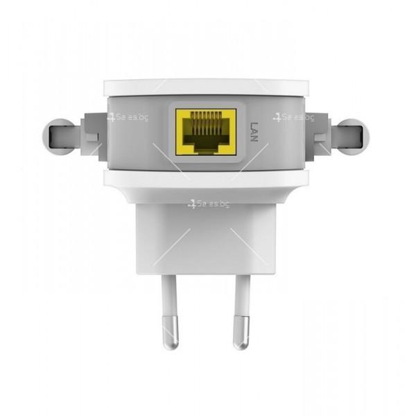 Wifi усилвател за лесно конфигуриране D-Link Wireless Range Extender N3000 8