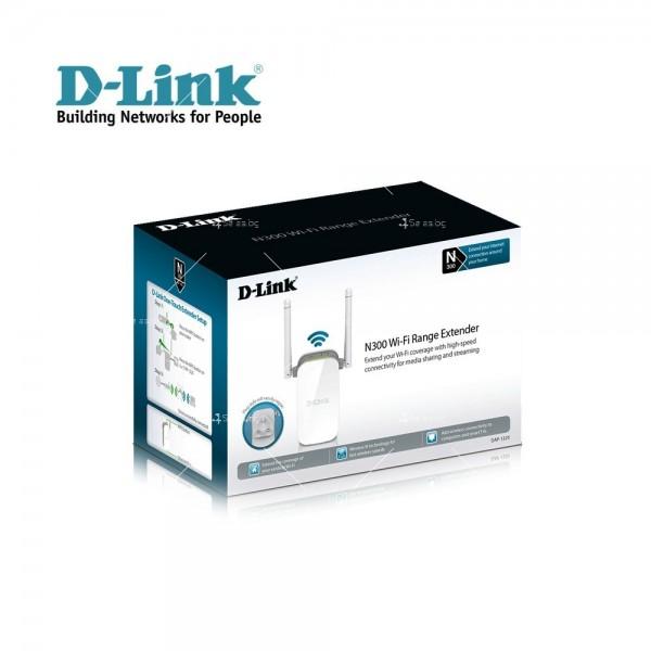 Wifi усилвател за лесно конфигуриране D-Link Wireless Range Extender N3000 9