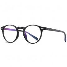 Дамски кръгли очила за компютър с гъвкави оптични рамки и Blue Light Blocking