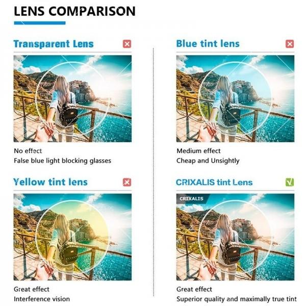 Grixalis дамски очила за компютър против синя светлина 6