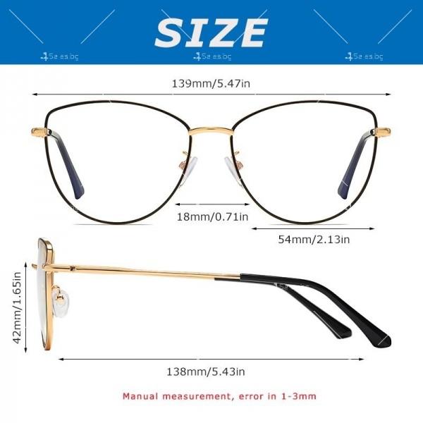 Grixalis дамски очила за компютър против синя светлина 7