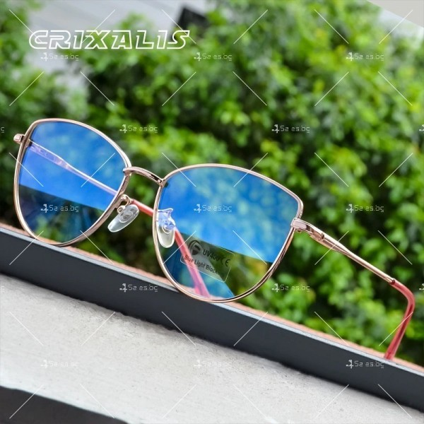 Grixalis дамски очила за компютър против синя светлина 10