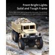 Реалистичен детски военен камион с дистанционно управление JJRC - TOY CAR30 7