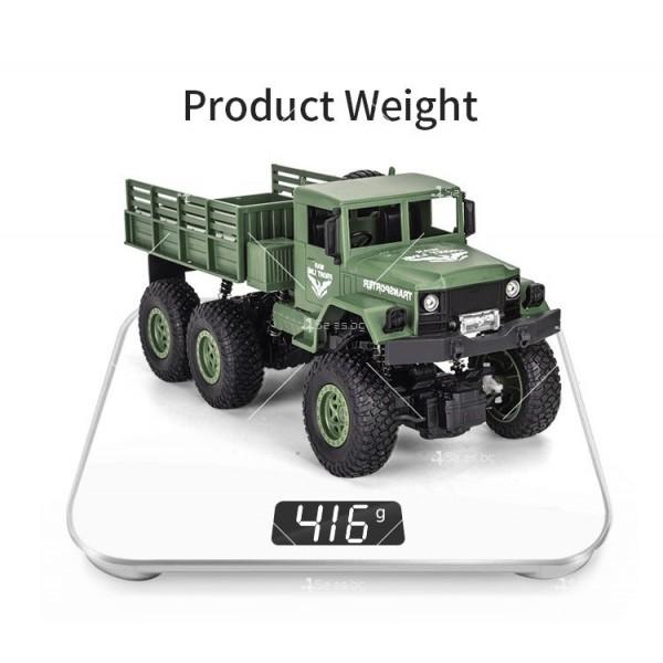 Реалистичен детски военен камион с дистанционно управление JJRC - TOY CAR30 11