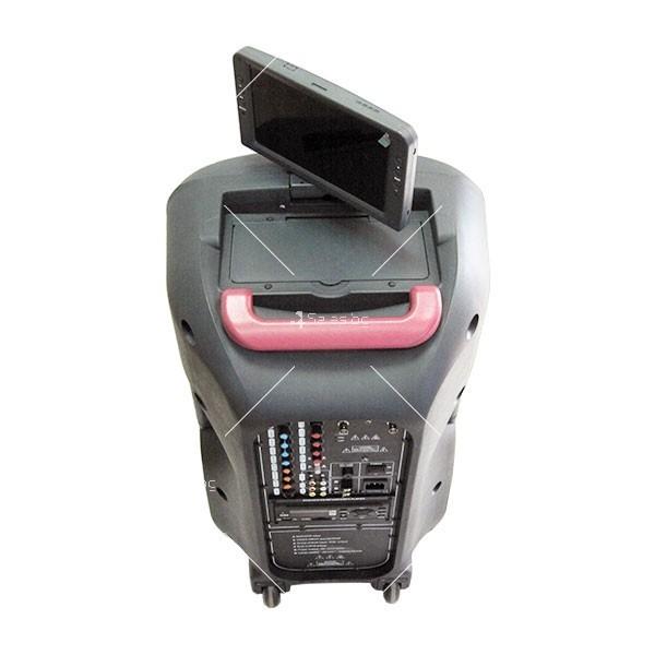 Караоке машина с 12-инчова музикална колона и DVD 3312-D 6