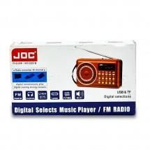 Мини преносимо радио на батерия и на ток JOC