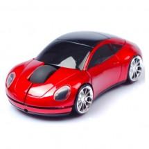 Оптична безжична мишка във формата на кола
