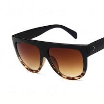 Големи дамски слънчеви очила с с права рамка