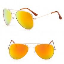 Детски слънчеви очила тип авиатор и огледални стъкла